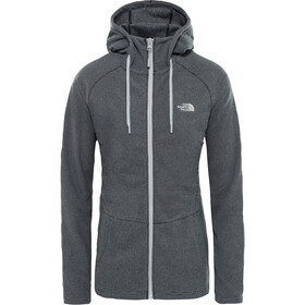 ed3a69b383 The North Face Mezzaluna Full-Zip Hoodie Damen tnf black stripe